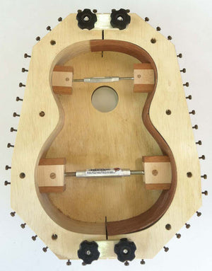 Classical Guitar Plans - Kasha 2 Bracing Form Package