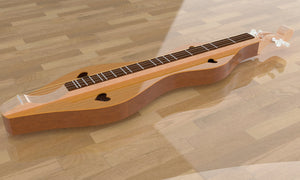Hourglass Mountain Dulcimer, Overall View 3
