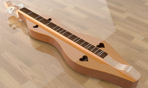 Hourglass Mountain Dulcimer, Overall View 1