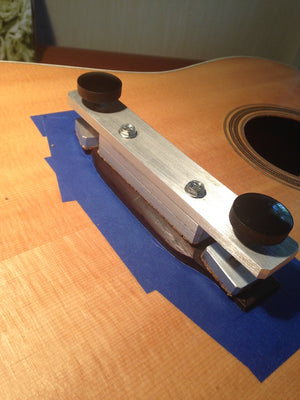 Belly Bridge Clamp - Aluminum Glued In Place