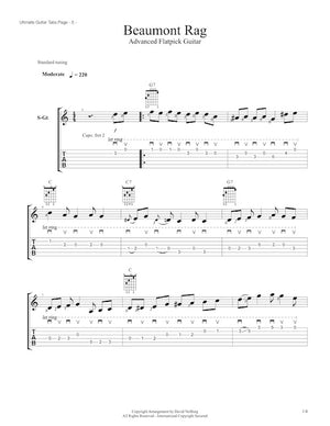 Ultimate Guitar Tabs - Book 1 Advanced, Beaumont Rag