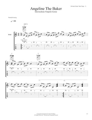 Ultimate Guitar Tabs - Book 2 Intermediate, Angeline the Baker