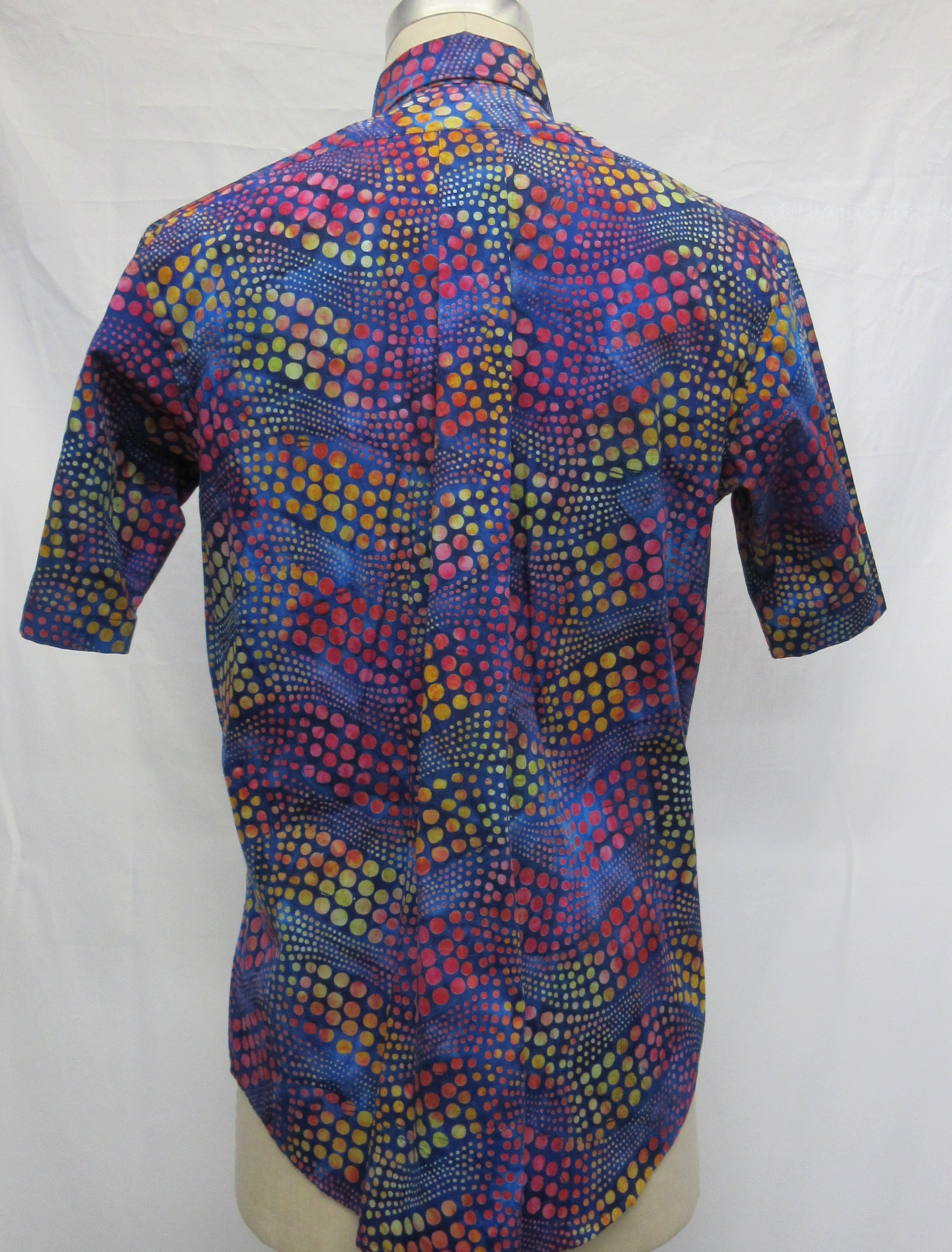 Wavy Dot Short Sleeve