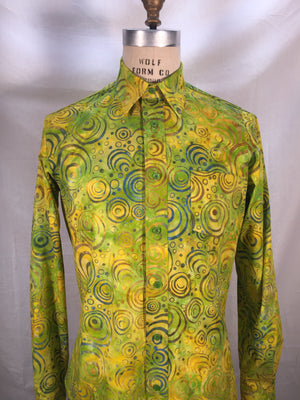 Yellow Green Batik Long sleeve