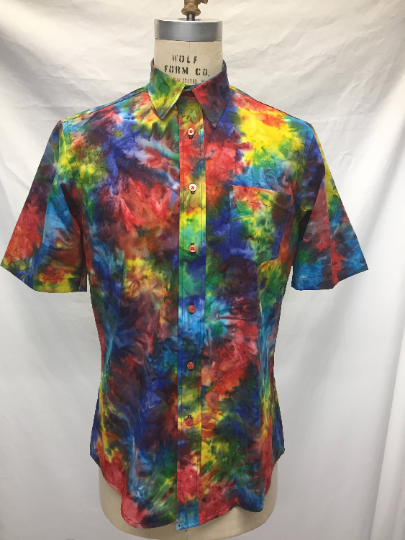 Rainbow Batik Short sleeve