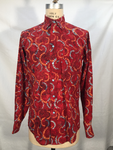 Red Batik Long Sleeve