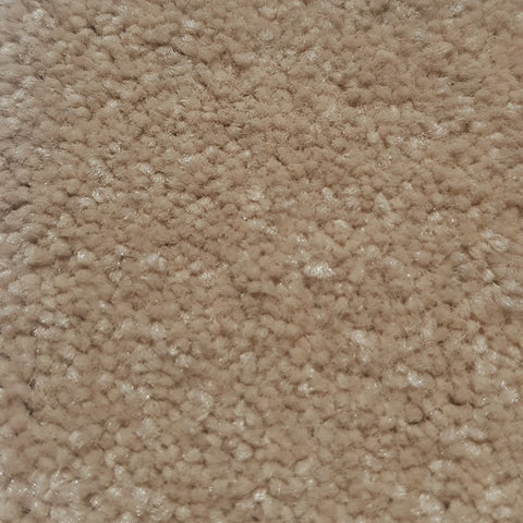 close up of fibres from a beige carpet roll stocked at cheap carpet melbourne