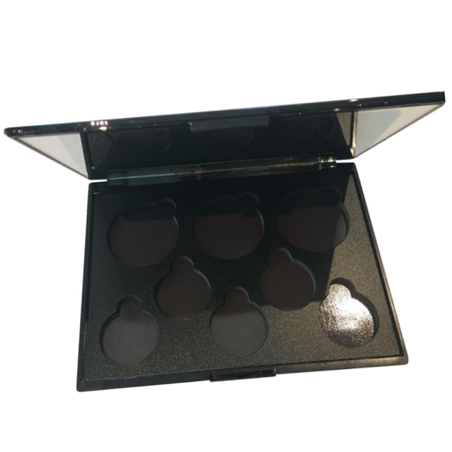 Empty 8-well Face and Eye Palette Compact