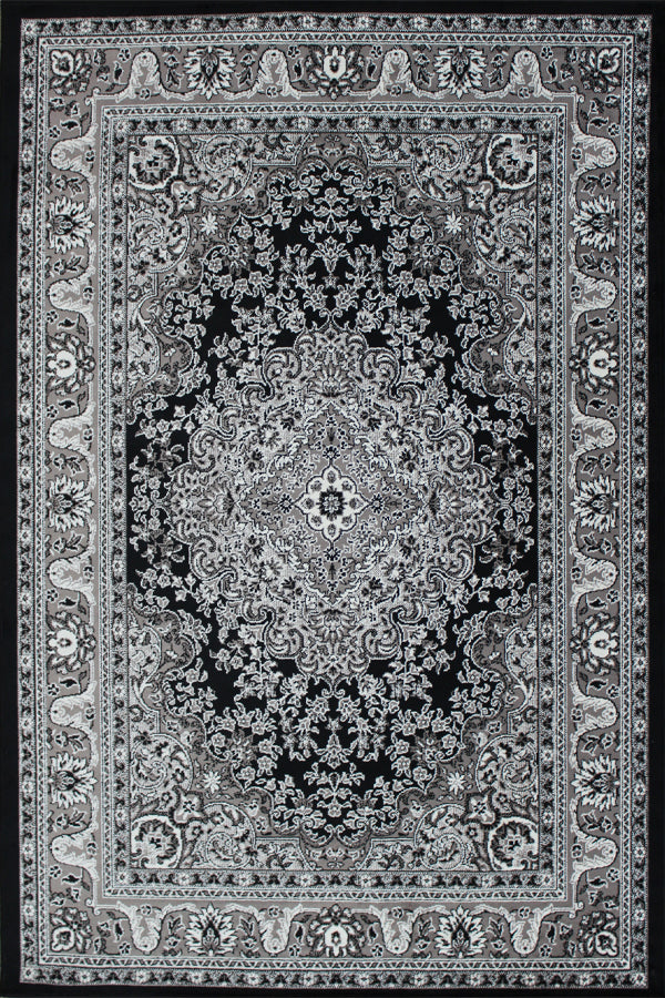 Ambrosia Black & White Rug
