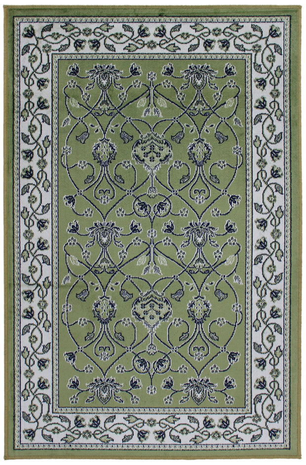 Art. Silk Bergama Pale Green  Rug