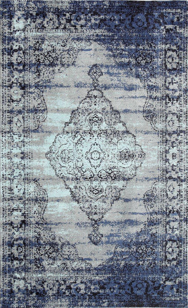 Vintage Centro Blue Gray Area Rug