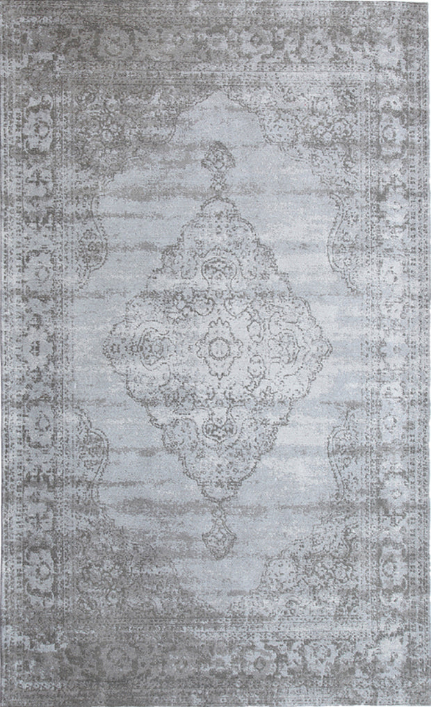 Vintage Centro Dove Gray Area Rug