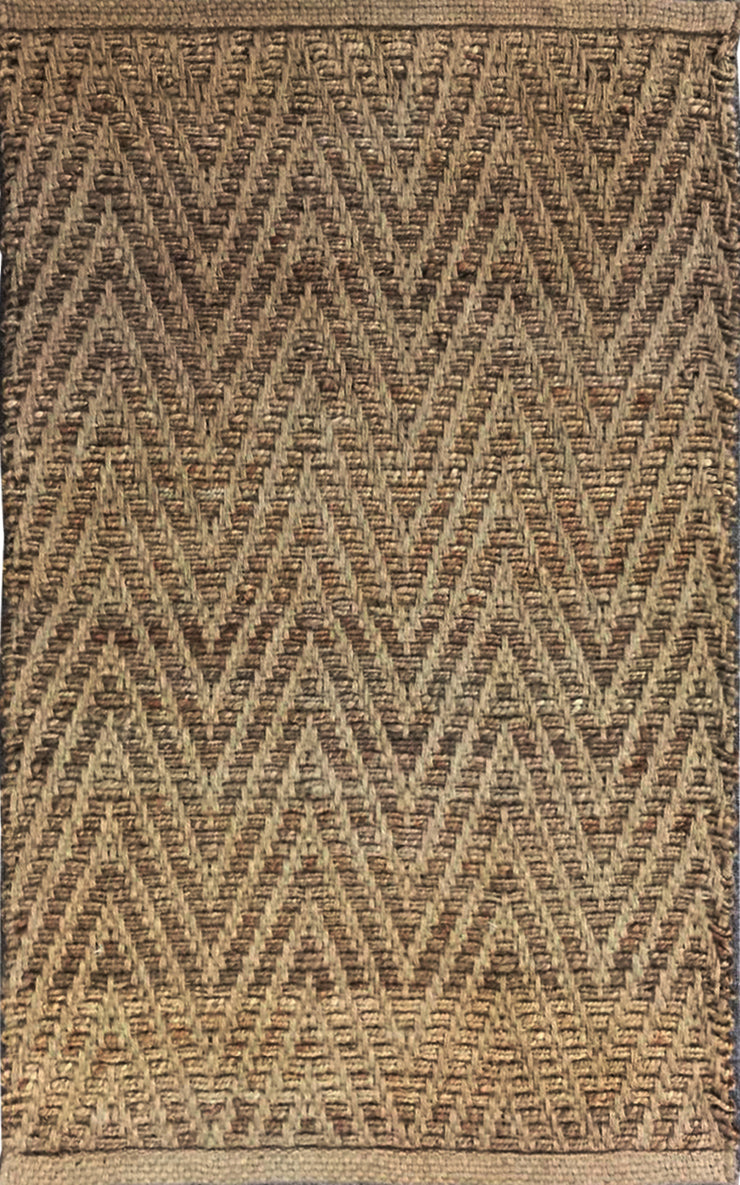 Jute Chevron Natural Area Rug