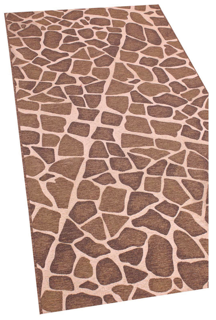Esterno Cobblestone Brown Area Rug