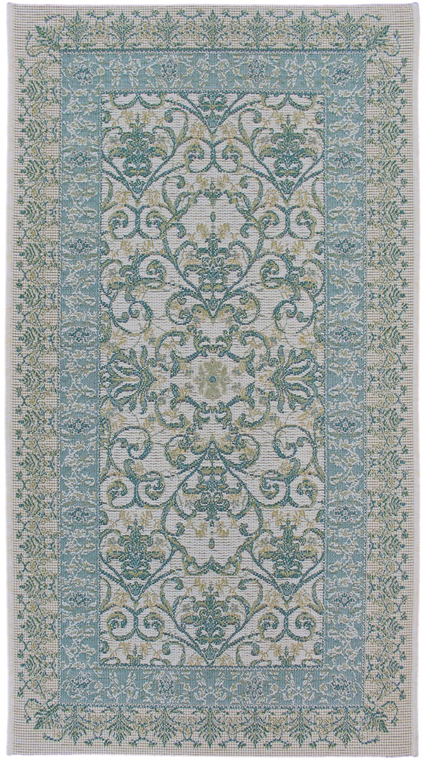 Esterno Dio Blue/Greenn Area Rug