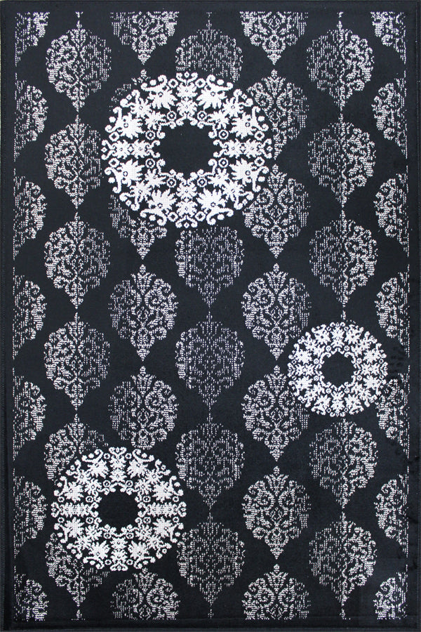 Eclipse Black & White Rug