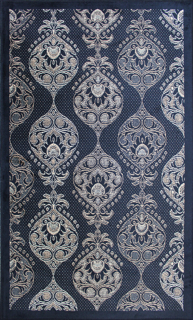 Art. Silk AFlorentia Black Rug
