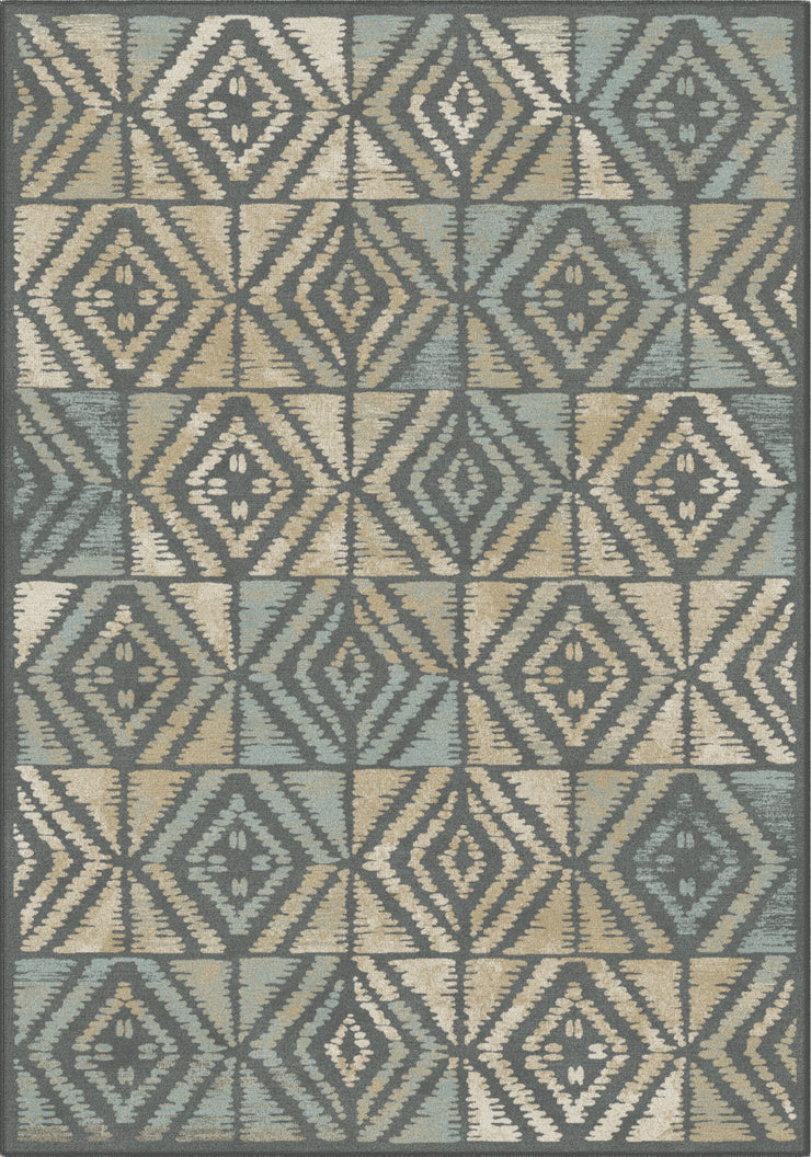 Art. Silk Graphica Gray/Tan Rug