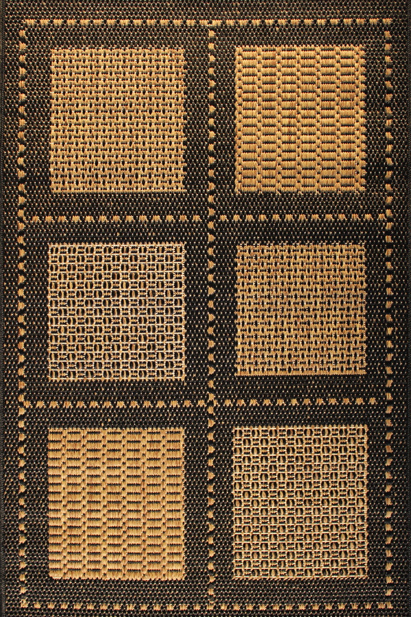 Weathervane Kabana Black Indoor/Outdoor Area Rug