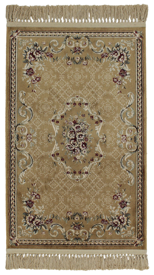 Antigua Lotus Gold  Rug