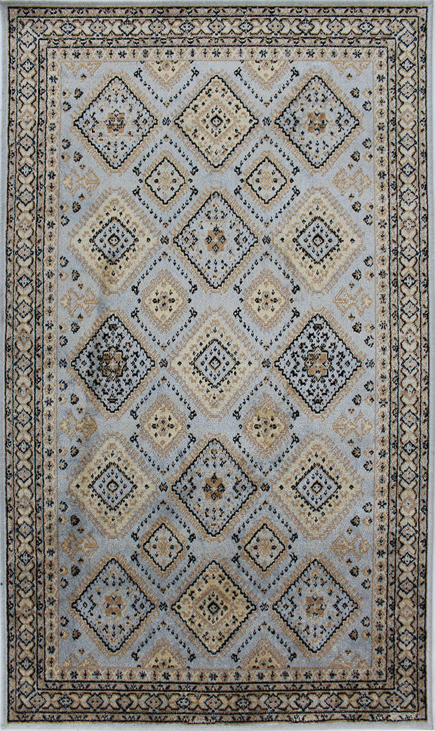 Art. Silk MPearl Gray Rug
