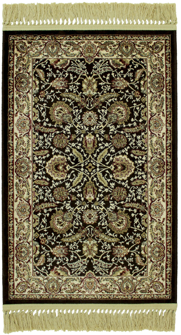 Antigua Meran Brown Rug