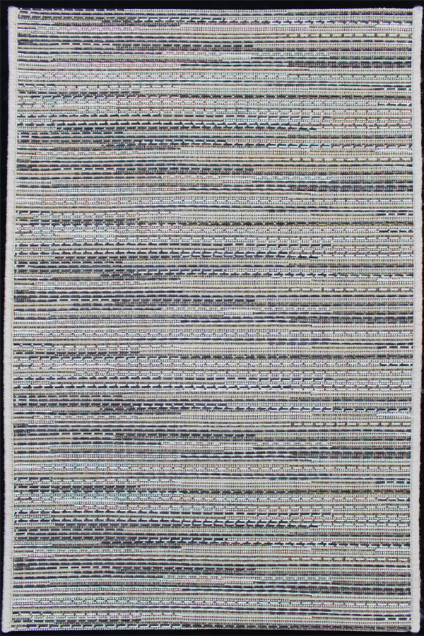 Monaco Milano New Gray Indoor/Outdoor Area Rug