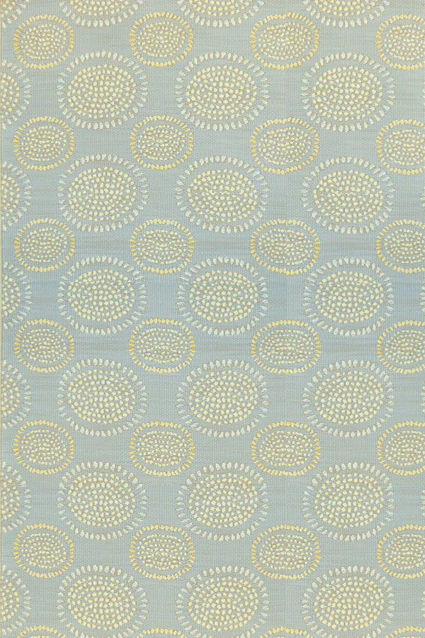 Mad Mats Molly Gray & Yellow Indoor/Outdoor Mat