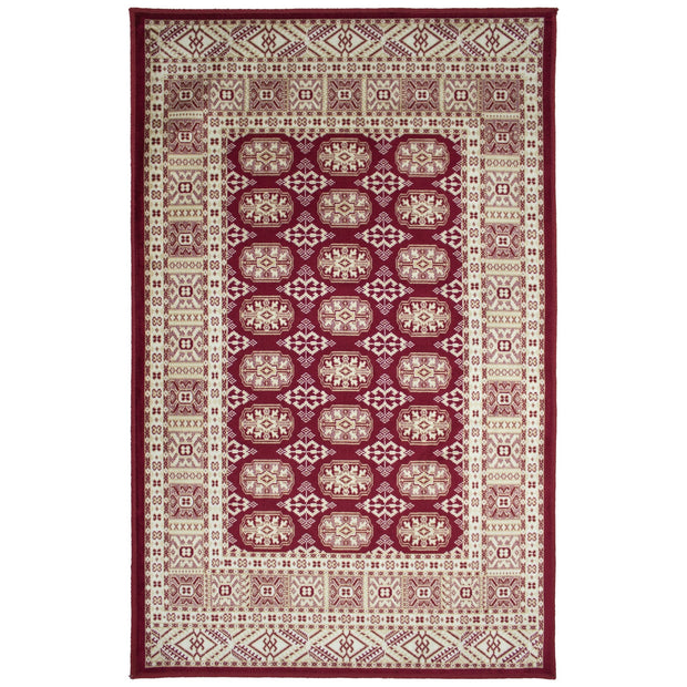 Art. Silk Mori Red Rug