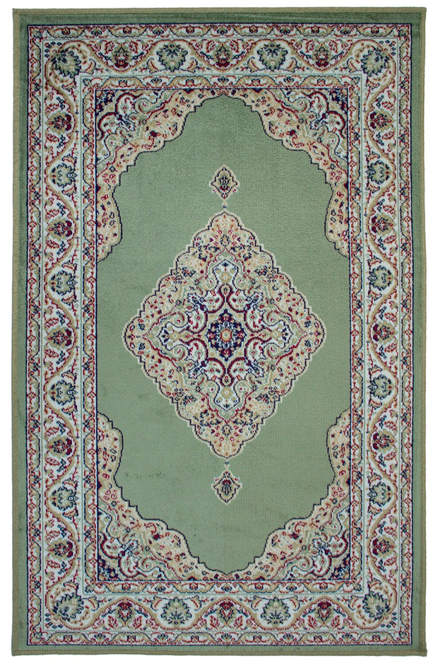 Art. Silk Naran Green Rug