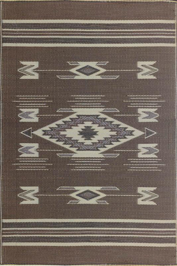Mad Mats Navajo Brown Indoor/Outdoor Mat