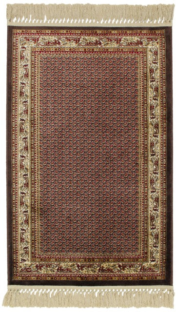 Antigua Paisley Brown Rug