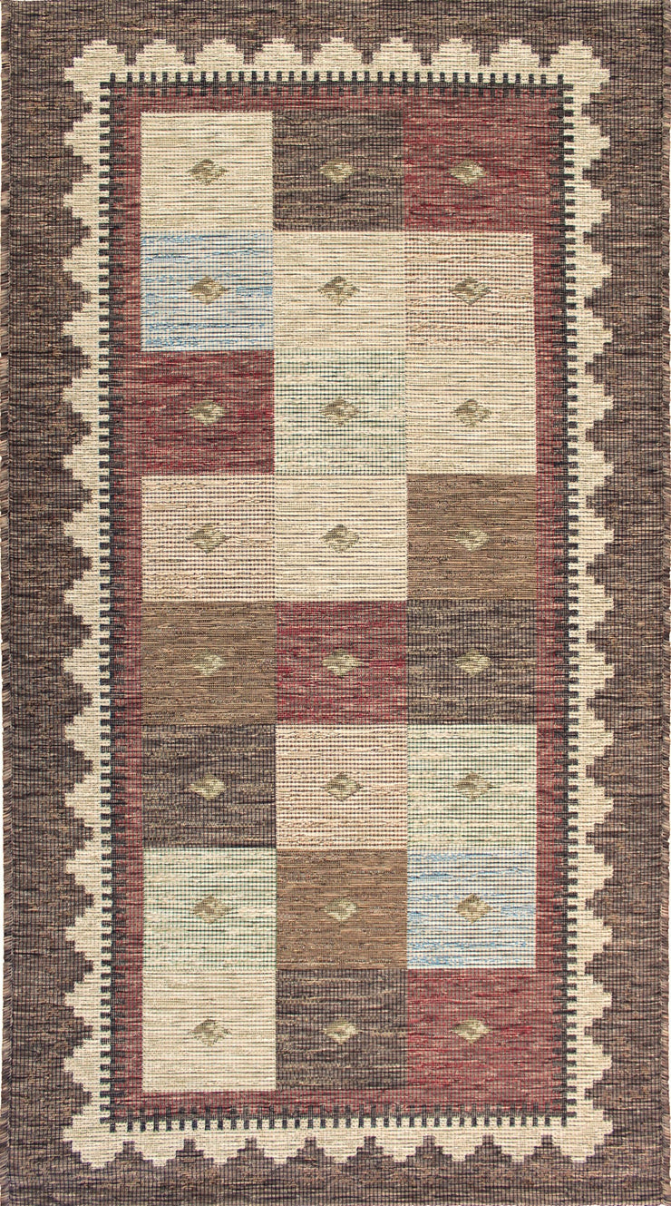 Esterno Rafey Multi Brown Indoor/Outdoor Area Rug