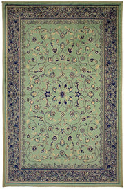 Art. Silk Sarook  Pale Green Rug