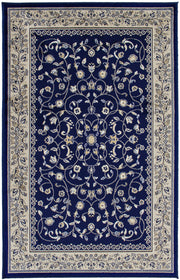 Art. Silk  Sarook Navy Rug