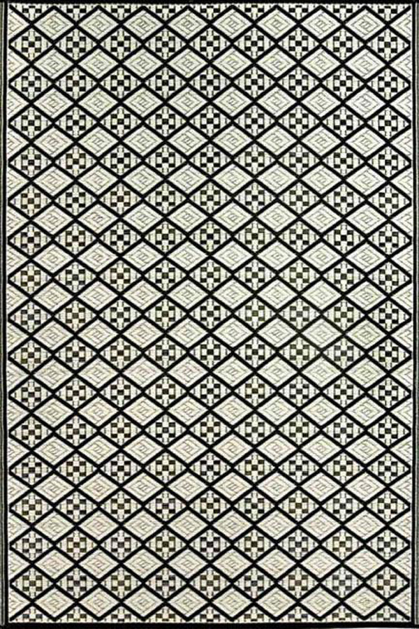 Mad Mats Scotch Black/White Indoor/Outdoor Mat