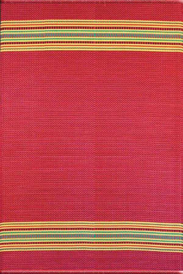 Mad Mats Serape Dark Red Indoor/Outdoor Mat