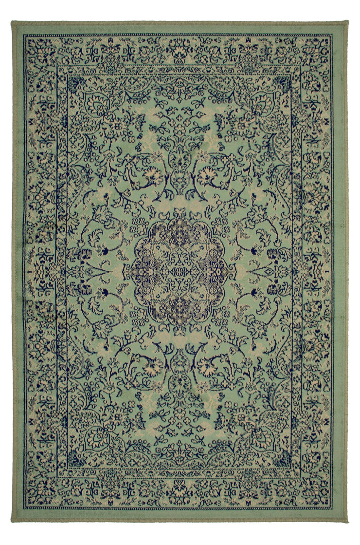 Art. Silk  Serapi Pale Green Rug