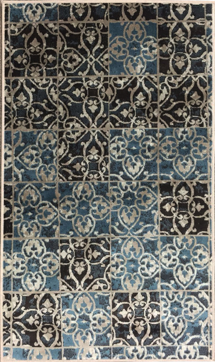 Art. Silk Souma Blue Rug