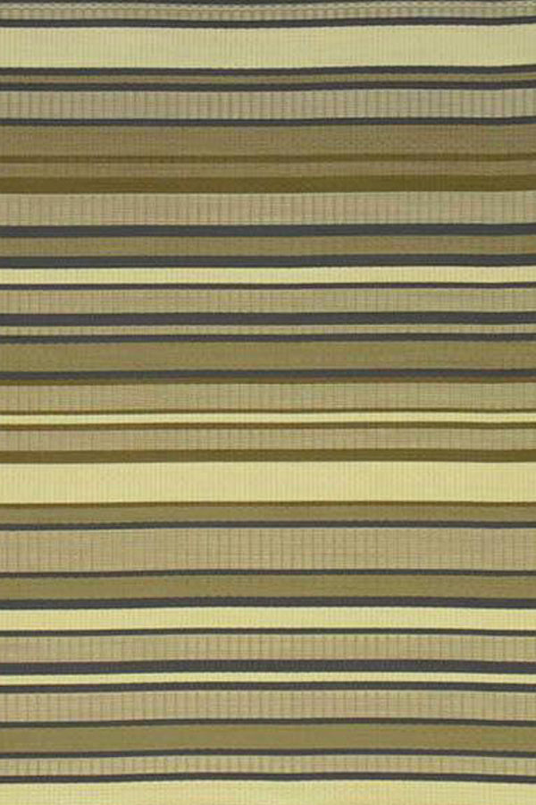 Mad Mats Stripes Warm Grey Indoor/Outdoor Mat
