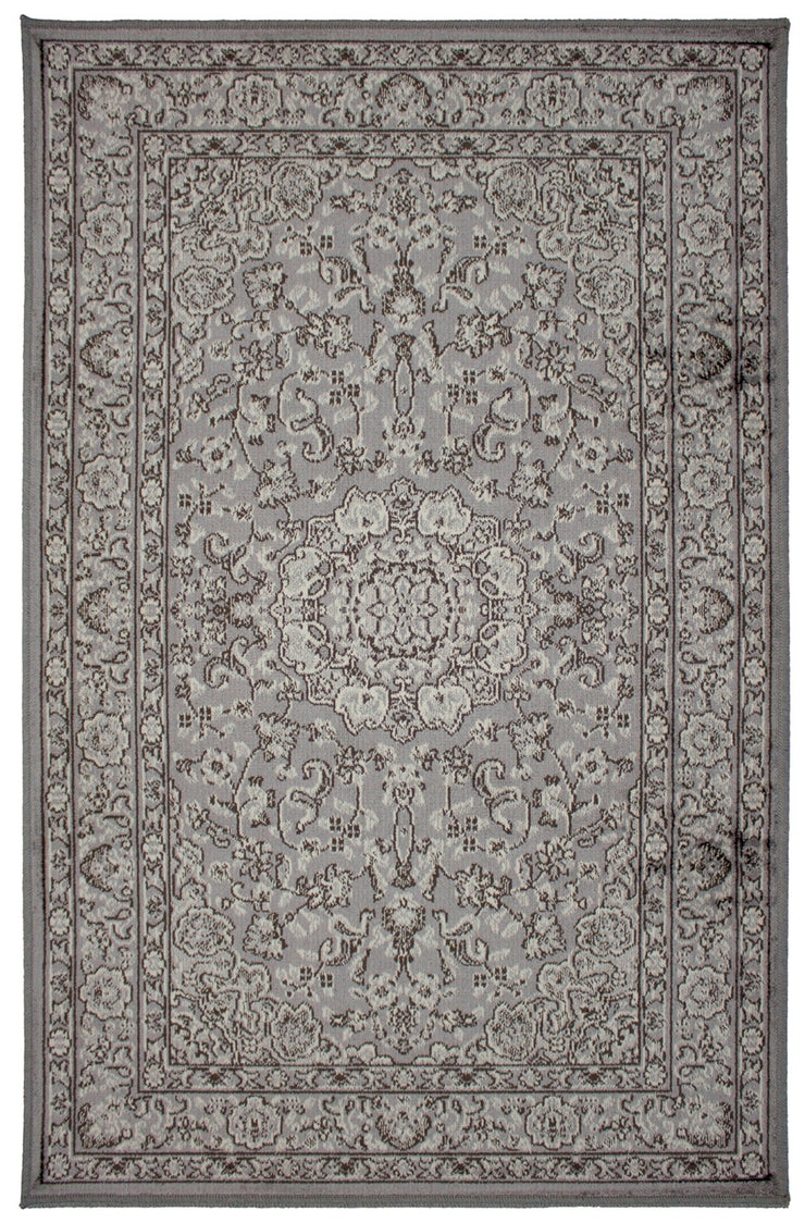 Art. Silk Tabriz Gray Rug
