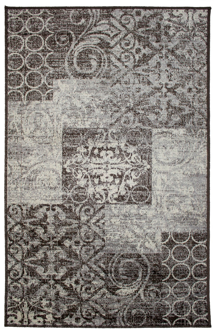 Art. Silk Trace Faded Gray/Brown Rug