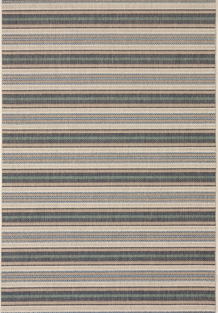 Monaco Uptown Blue Indoor/Outdoor Area Rug