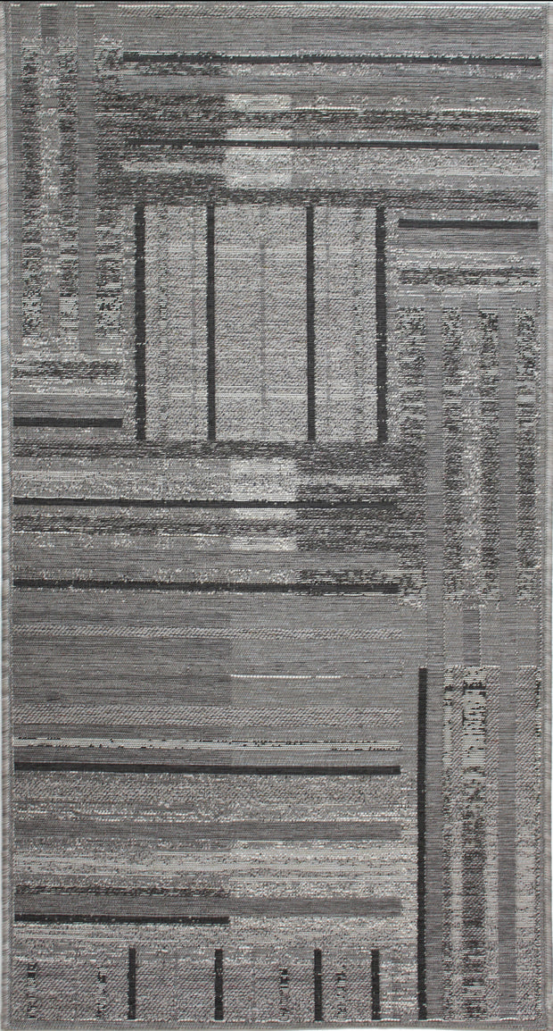 Esterno Urban Silver Indoor/Outdoor Area Rug