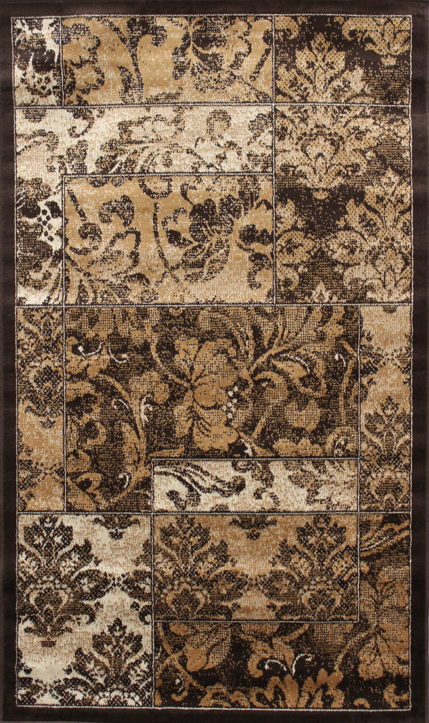 Art. Silk Wild Flower Rug