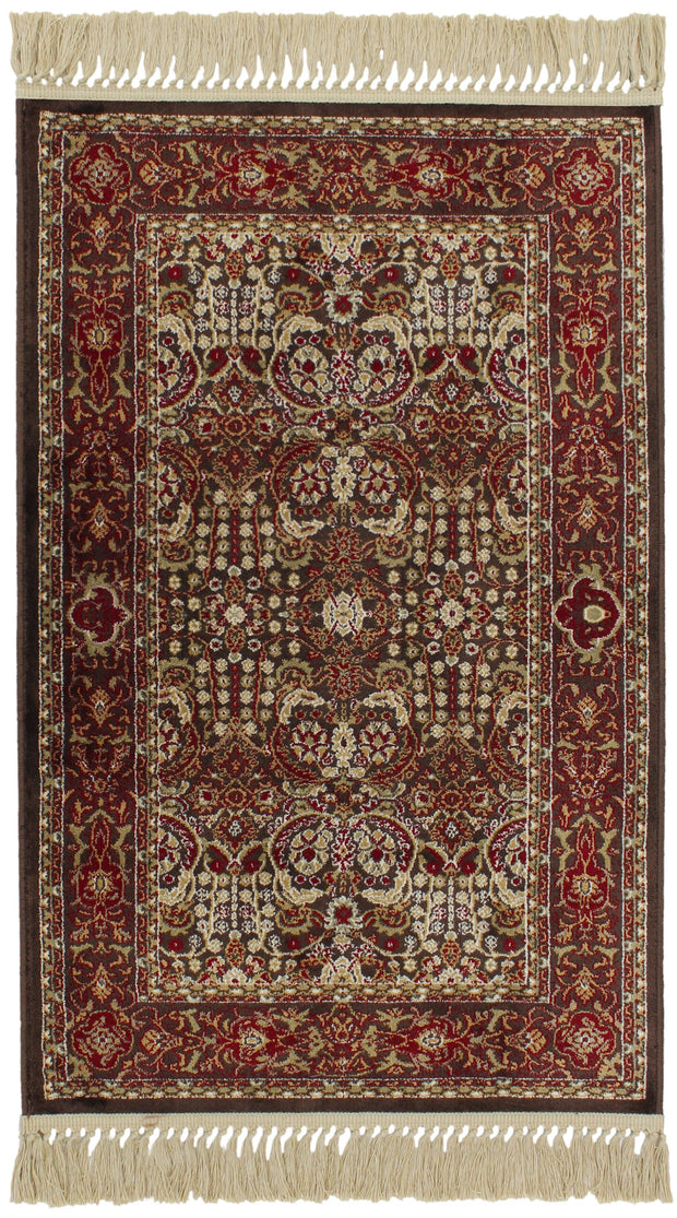 Antigua Ziegler Brown Rug
