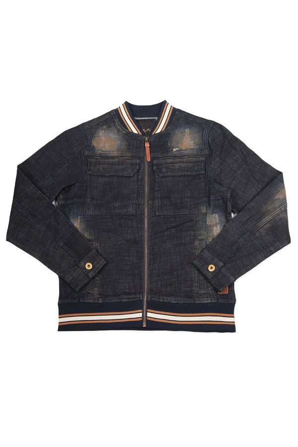 Terry | Men's Raw Denim Jacket