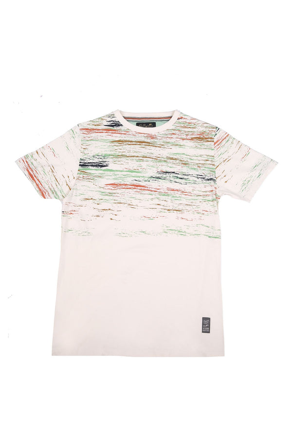 Lorenzo | Men's Crew Neck Printed T-Shirt
