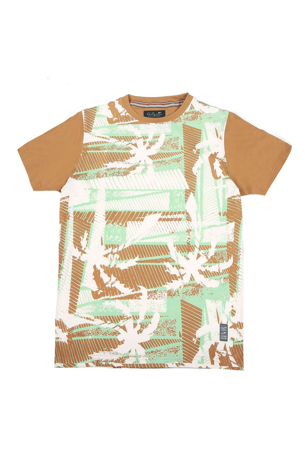 Paul | Men's Crew Neck Printed T-Shirt