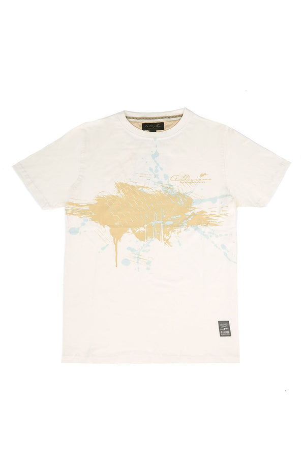 Barron | Men's Jersey Crew Neck Graphic T-Shirt